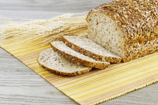 Organic Whole Sliced Bread  Stock photo © tab62