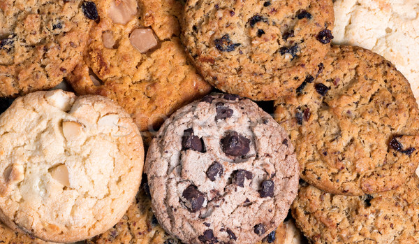 Variety of cookies in filled frame layout  Stock photo © tab62