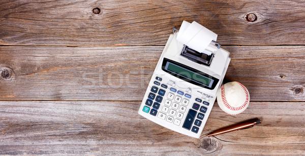 Edad escritorio utilizado negocios objetos Foto stock © tab62