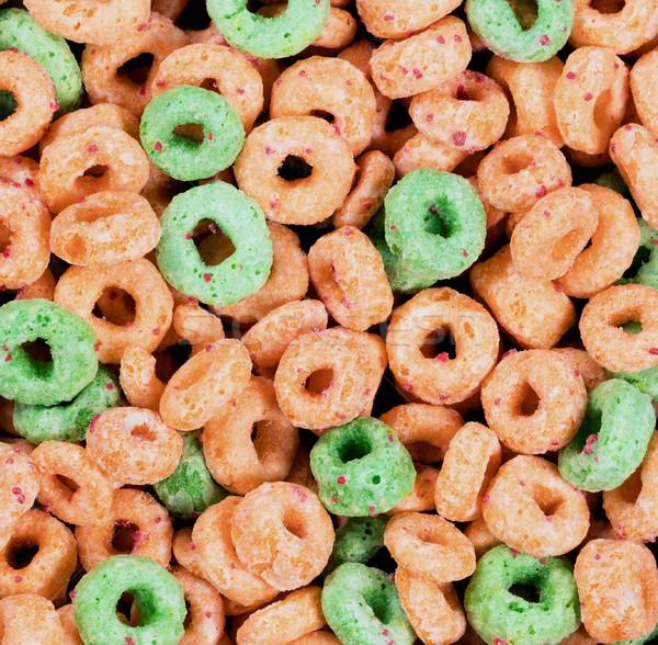 カラフル 穀物 フレーム フォーマット フルーツ ストックフォト © tab62