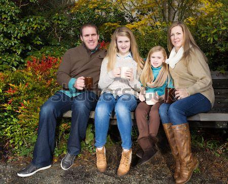 семьи время парка фото Сток-фото © tab62