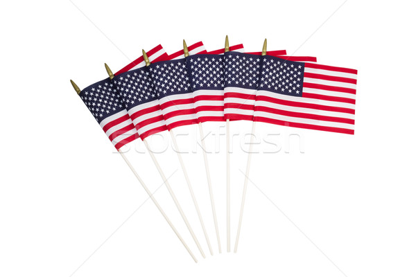 アメリカン フラグ 白 米国 アメリカ 孤立した ストックフォト © tab62