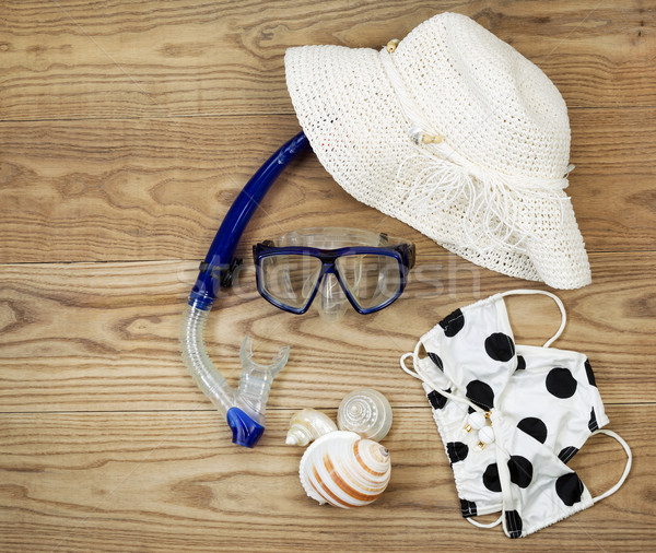 Beach Attire for Summer Fun  Stock photo © tab62