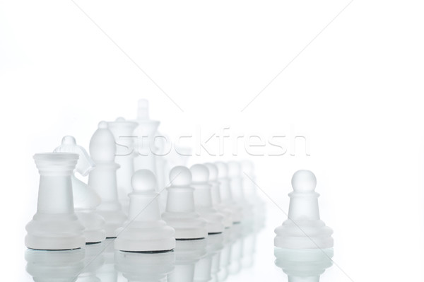 Game in chess Stock photo © taden