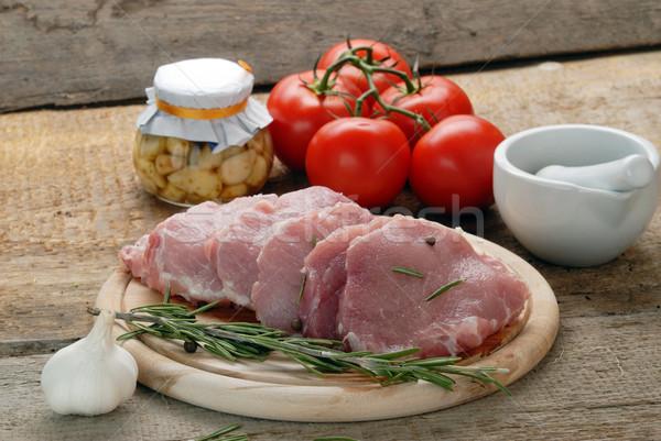 raw meat Stock photo © taden