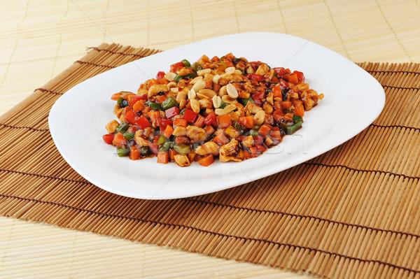 中国食品 プレート 食品 卵 ストックフォト © taden