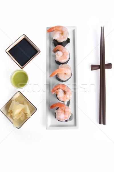 Delicious sushi rolls  Stock photo © taden