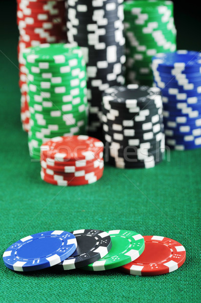 different color chips Stock photo © taden
