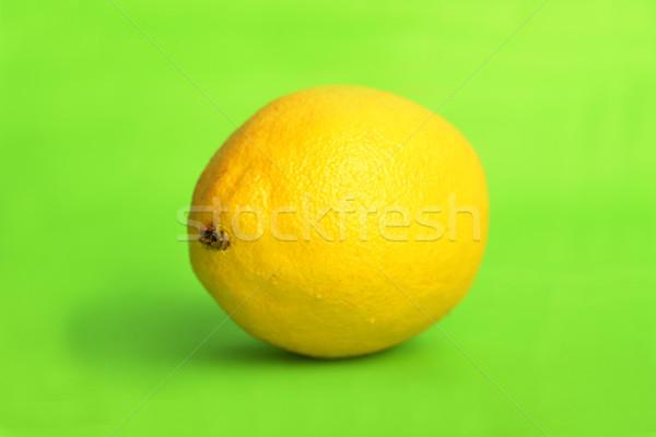 Limon yeşil yalıtılmış doğa arka plan renk Stok fotoğraf © taden