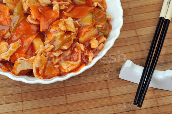 steamed vegetables Stock photo © taden