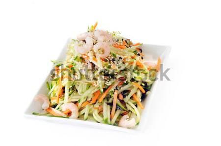 Stock fotó: Zöldség · saláta · Seattle · tál · zöldségek · kínai
