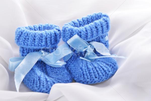 baby booties Stock photo © taden