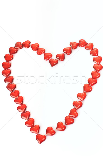 rom small hearts Stock photo © taden