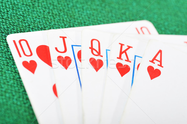 Poker winning  Stock photo © taden