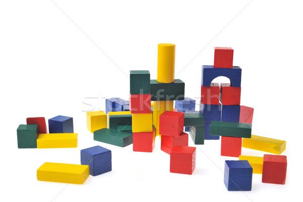 wooden toy blocks Stock photo © taden
