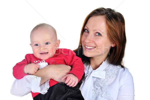 привлекательный мамы Cute ребенка мальчика молодые Сток-фото © taden