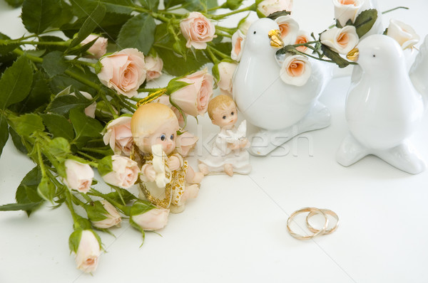 rings and roses Stock photo © taden