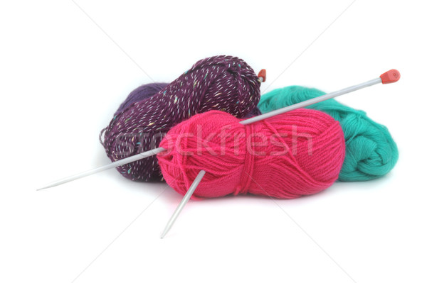 threads for knitting Stock photo © taden