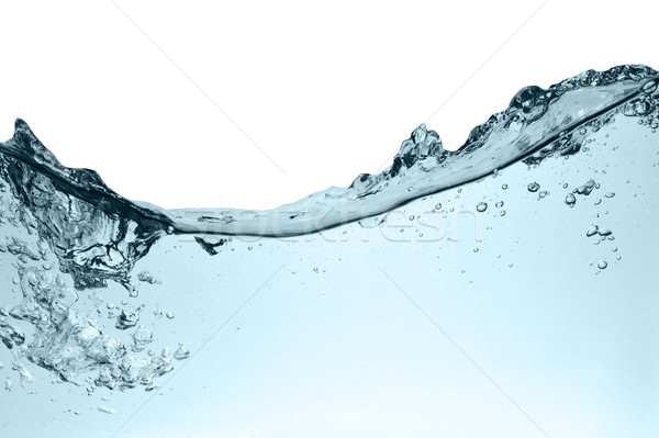 Water bubbels zoetwater abstract golf schone Stockfoto © taden