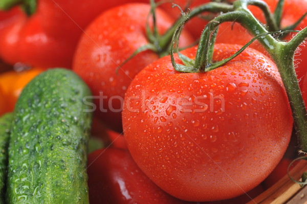 vegetables in the basket Stock photo © taden