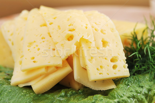 Bianco formaggio verdure fresche party cucina bere Foto d'archivio © taden