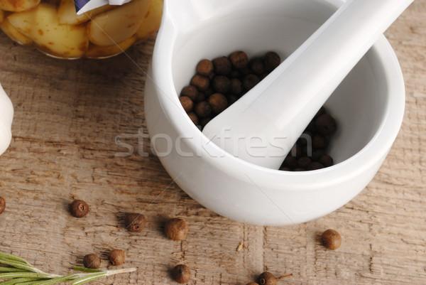 mortar and pestle Stock photo © taden