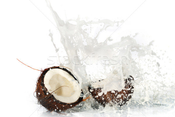 cracked coconut Stock photo © taden