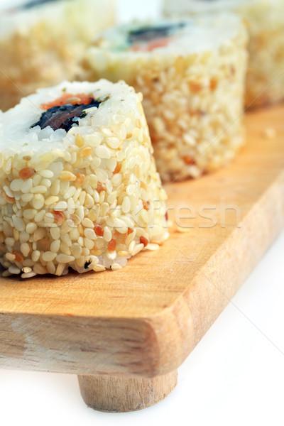 fresh sushi Stock photo © taden