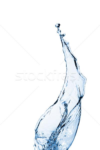Agua burbujas caer luz Foto stock © taden