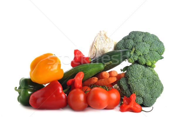 Vegetables on  table Stock photo © taden