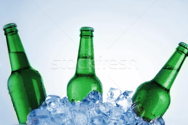 green bottles Stock photo © taden