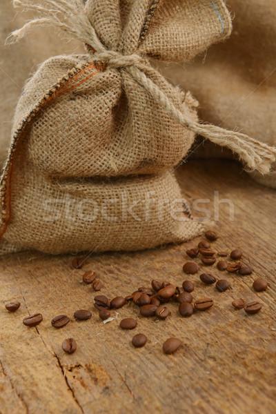 кофе вокруг сумку фон складе Сток-фото © taden