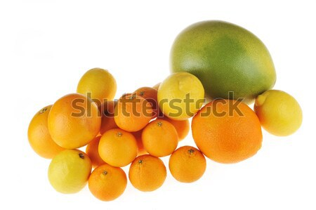 Mandarina limón pomelo naranja blanco naturaleza Foto stock © taden