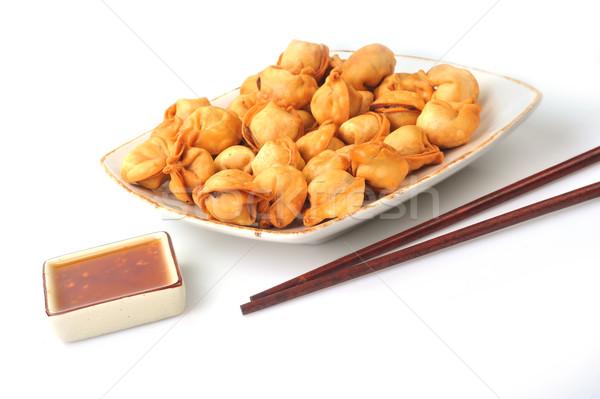Frito tradicional relleno carne hortalizas Foto stock © taden