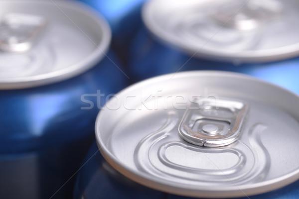 Alluminio può bere view alcol contenitore Foto d'archivio © taden