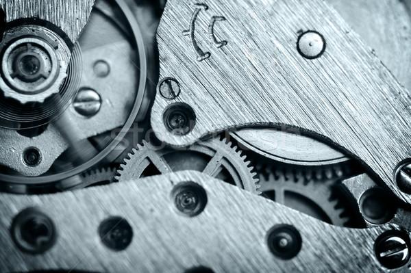 watch mechanism very close up Stock photo © taden