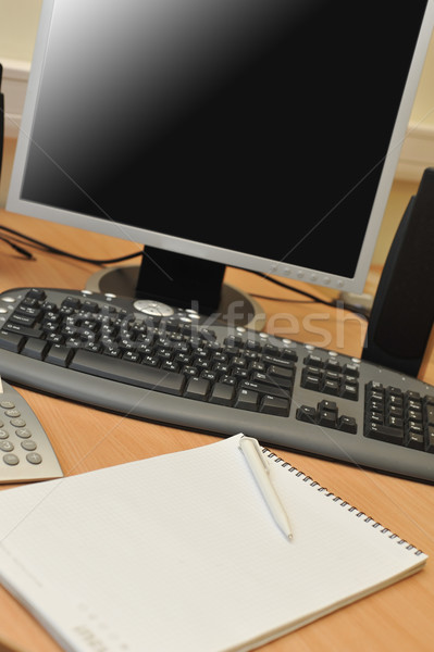 Workplace in office Stock photo © taden