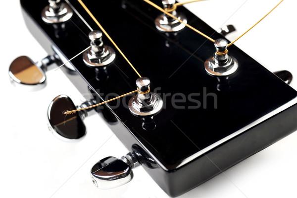 headstock of acoustic guitar Stock photo © taden