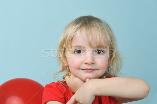 little girl Stock photo © taden