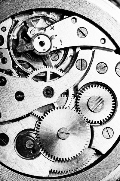 Armbanduhr Lügen Tabelle Uhr Gold ansehen Stock foto © taden