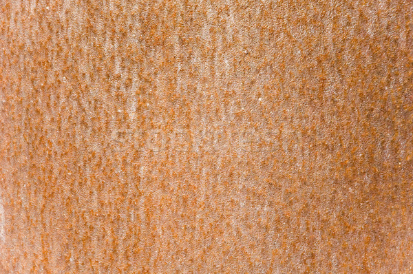 Roestige muur abstract metaal oranje plaat Stockfoto © taden