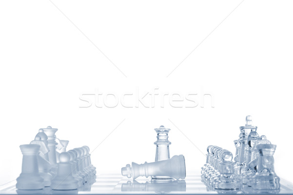 victory or loss Stock photo © taden