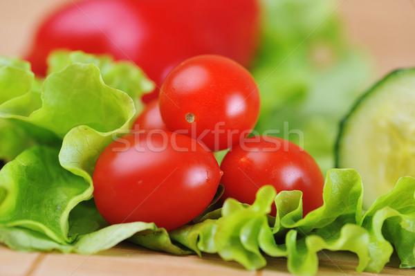 помидоры черри зрелый сочный салата продовольствие природы Сток-фото © taden