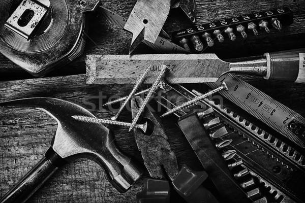 различный инструменты набор аннотация фон Сток-фото © taden