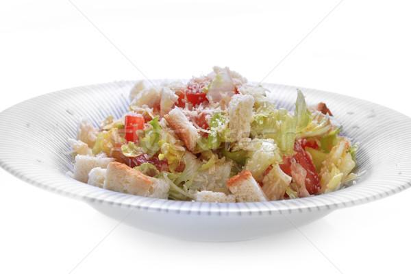 野菜 サラダ トースト プレート 食品 ストックフォト © taden
