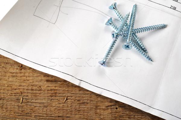 鋼 デザイン プロジェクト 図面 アーキテクチャ ストックフォト © taden