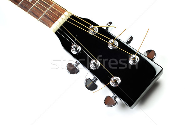 headstock of acoustic guitar Stock photo © taden