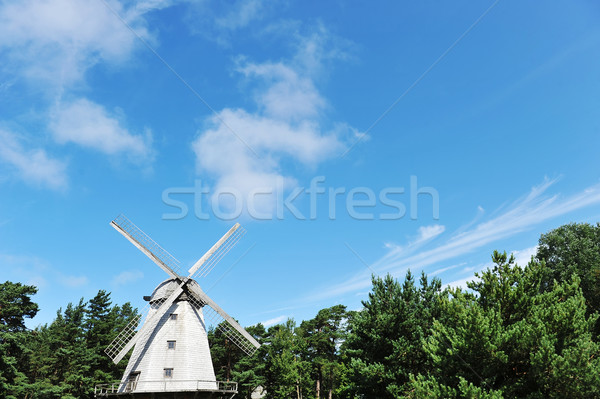 old mill Stock photo © taden