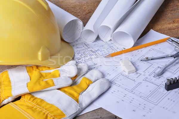プロジェクト 図面 デザイン 表 ビジネス ストックフォト © taden