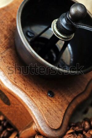 Manual coffee grinder Stock photo © taden